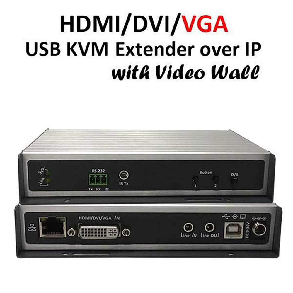 BEACON DV-9525 HDMI/DVI/VGA Video Wall over IP | | Antsys